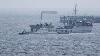 Росія повернула Україні захоплені кораблі: все, що відомо