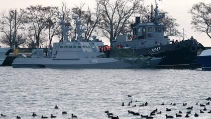 Захоплені українські кораблі ще у Керчі: Бутусов розповів, що відомо на цей момент