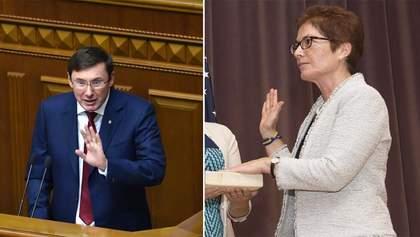 Луценко: Йованович сказала неправду Конгрессу США