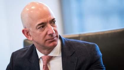 Безос – вже не найбагатша людина світу: Bloomberg оприлюднив новий рейтинг