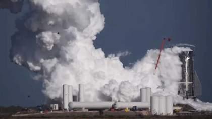 Прототип марсіанського корабля Starship Mk1 від SpaceX вибухнув під час випробувань: відео