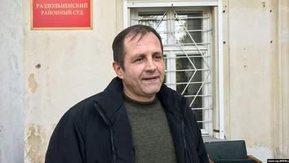 Балух рассказал, как выдержал голодовку в российской колонии