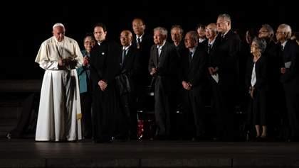 Место боли и ужаса: Папа Римский посетил Хиросиму впервые с 1981 года