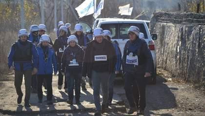 Миссия ОБСЕ верифицировала разведение войск в Золотом: видео