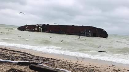 Аварія танкера біля Одеси: судно працювало нелегальною морською заправкою