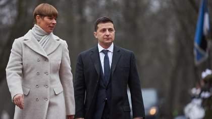 Зеленский рассказал, о чем договорился в Эстонии