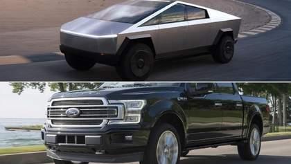 """Ford відмовився від """"справедливого змагання"""" пікапів з Tesla"""