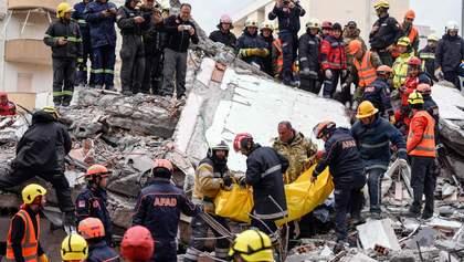 В Албанії стався третій потужний землетрус за тиждень
