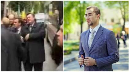 Заступник голови ОДА кидав яйцем у президента