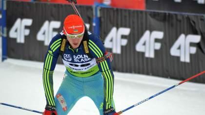Україна втратила медаль на першій гонці Кубка світу з біатлону, лідируючи по дистанції