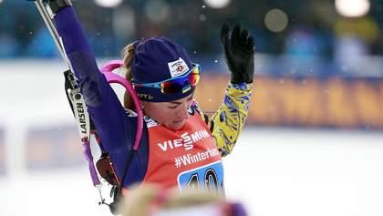 Вірер перемогла в спринті, Віта Семеренко фінішувала 10-ю