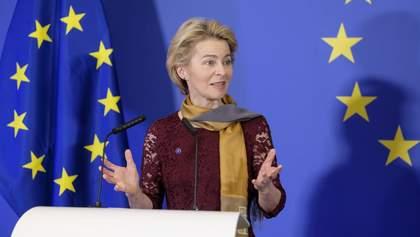 Урсула фон дер Ляєн – перша жінка, яка стала президентом Єврокомісії