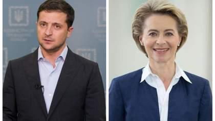 Зеленский поговорил с президентом Еврокомиссии фон дер Ляйен: что обсудили