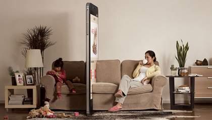 Як смартфони розділяють сім'ї: правдива рекламна кампанія – фото