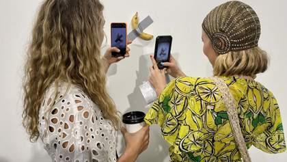 Банан на скотчі продали за 120 000 доларів на ярмарку