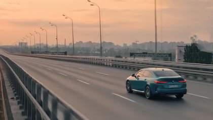 Новая модель BMW в Киеве: впечатляющий рекламный ролик