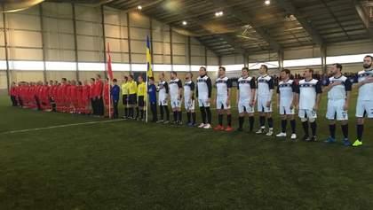 Нардепы ВРУ сыграли в футбол с парламентариями Турции: кто победил