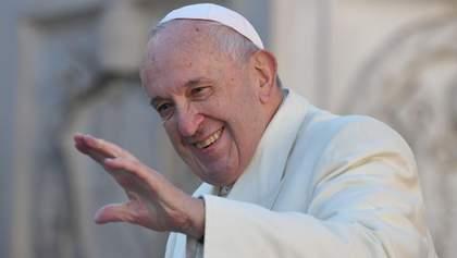 Папа Римский помолился за успех нормандской встречи: видео
