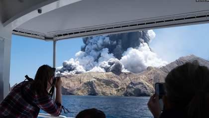 У Новій Зеландії сталося виверження вулкану: є загиблі та зниклі безвісти – фото, відео
