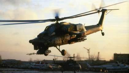 Розбився російський бойовий вертоліт полку, який атакував кораблі України в Керченській протоці