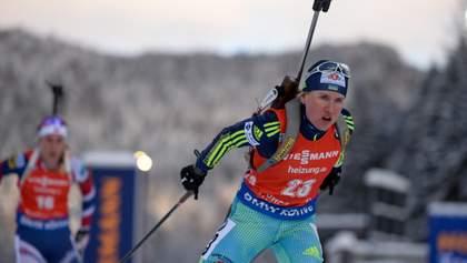 Украинка Меркушина выиграла квалификации суперспринта Кубка IBU в Риднау