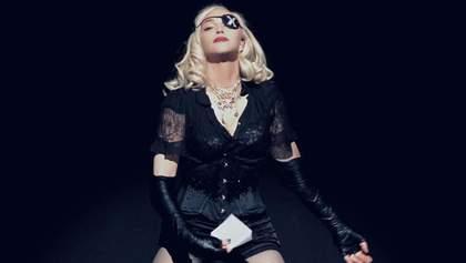 Соблазнительные движения в не менее соблазнительной одежде: как Мадонна готовится к концерту