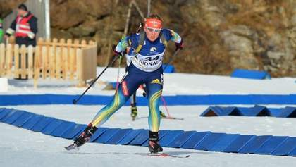 Украинка Меркушина финишировала второй в финале суперспринта Кубка IBU