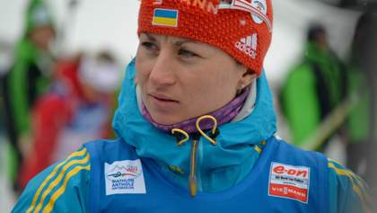 Валя Семеренко финишировала в топ-10 спринтерской гонки на этапе Кубка мира по биатлону