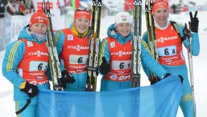 """Украина в """"золотом"""" составе вырвала 4 место женской эстафеты в Хохфильцене, победила Норвегия"""