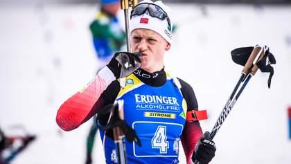 Йоханнес Бьо оформил золотой дубль на этапе в Хохфильцене, Пидручный – в топ-20
