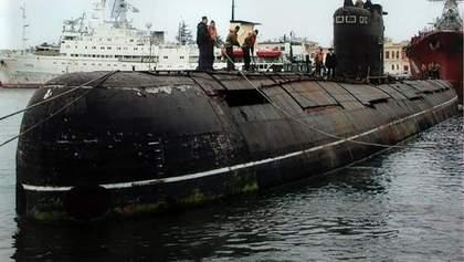 В оккупированном Крыму затонула российская подводная лодка: появилось видео