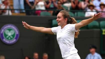17-летняя украинка Снигур совершила фантастический скачок в мировом рейтинге
