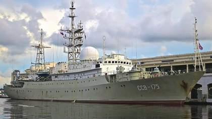 Российский разведывательный корабль опасно маневрирует у берегов США, – СМИ