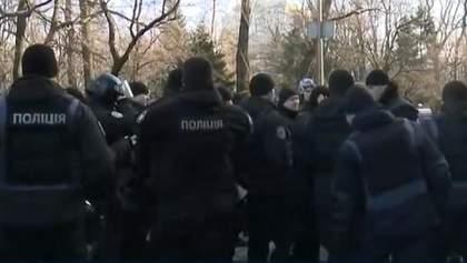 Сутички на мітингу проти ринку землі: постраждали журналісти та поліцейські – відео