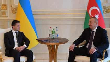 Візит Зеленського в Азербайджан: про що вдалося домовитися