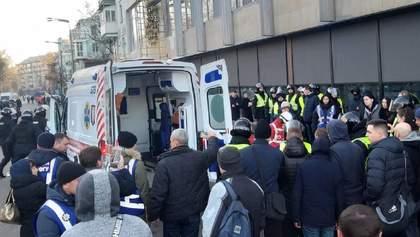 Сутички під Верховною Радою: поліція відкрила провадження проти протестувальників