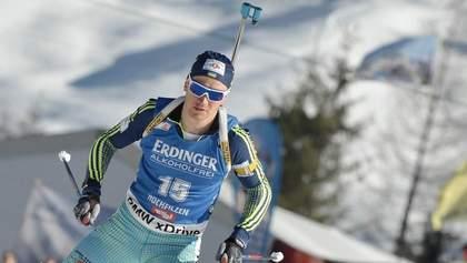 Биатлон: украинец Сергей Семенов выиграл золото в короткой индивидуальной гонке Кубка IBU