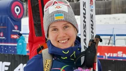 Кубок IBU: украинка Меркушина завоевала серебро в короткой индивидуальной гонке