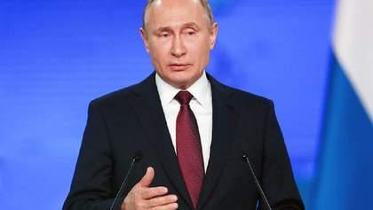 Путін розкритикував закон про особливий статус Донбасу