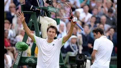 Перемога Стаховського над Федерером увійшла до найбільших сенсацій десятиліття на Вімблдоні