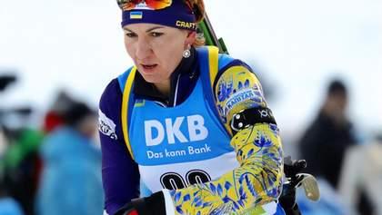 Пидгрушная финишировала 12-й в гонке преследования в Анси, победила норвежка Экхофф