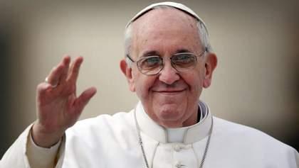 Папа Римський у різдвяному посланні згадав про Україну
