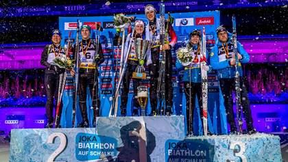 Украинцы Подручный и Меркушина заняли второе место на Рождественской гонке: результаты
