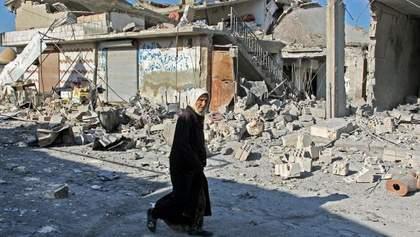 Сирийские правительственные войска разбомбили школу: погибли дети – видео 18+