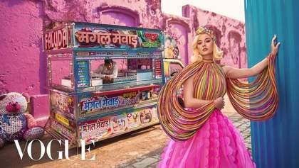 Велична розкіш: Кеті Перрі знялась для індійського Vogue