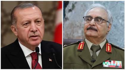 Приведе свою армію до загибелі, – Хафтар відповів Ердогану на погрози ввести війська