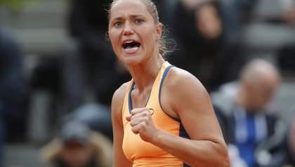 Бондаренко выиграла первый матч после возвращения, Цуренко зачехлила ракетку