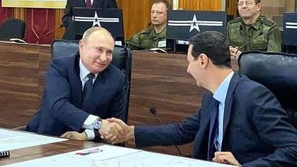 Путин на Рождество полетел в Сирию, которую разбомбил в декабре