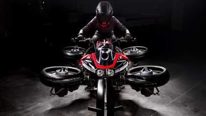 Літаючий мотоцикл-трансформер Lazareth з'явиться всього в п'яти екземплярах