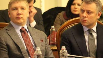 """Коболев и Витренко получат миллионные премии за договоренность с """"Газпромом"""""""